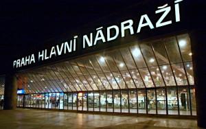 Estación de trenes de Praga