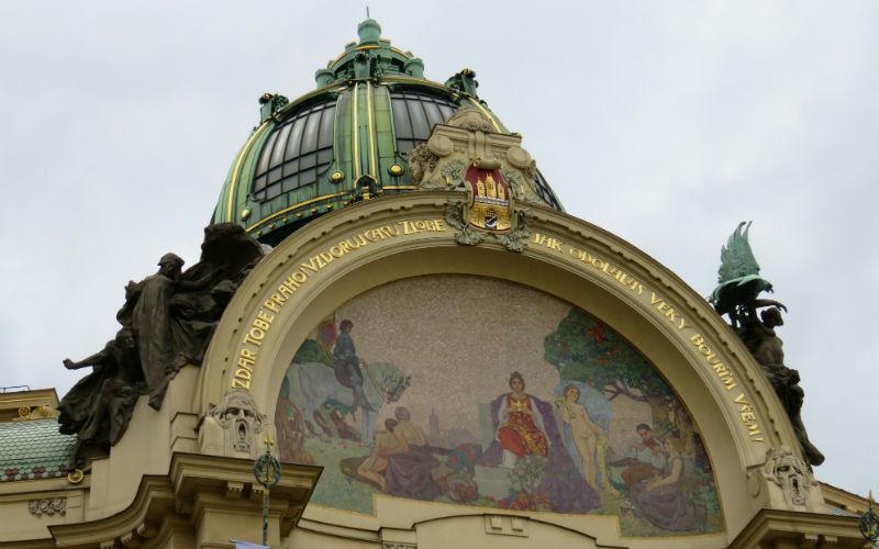 Mozaico de la Casa Municipal