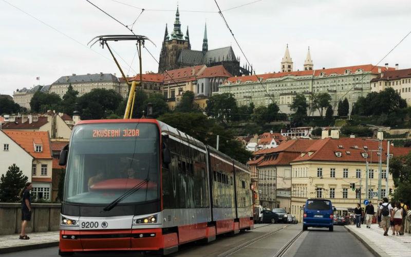 Transporte en Praga